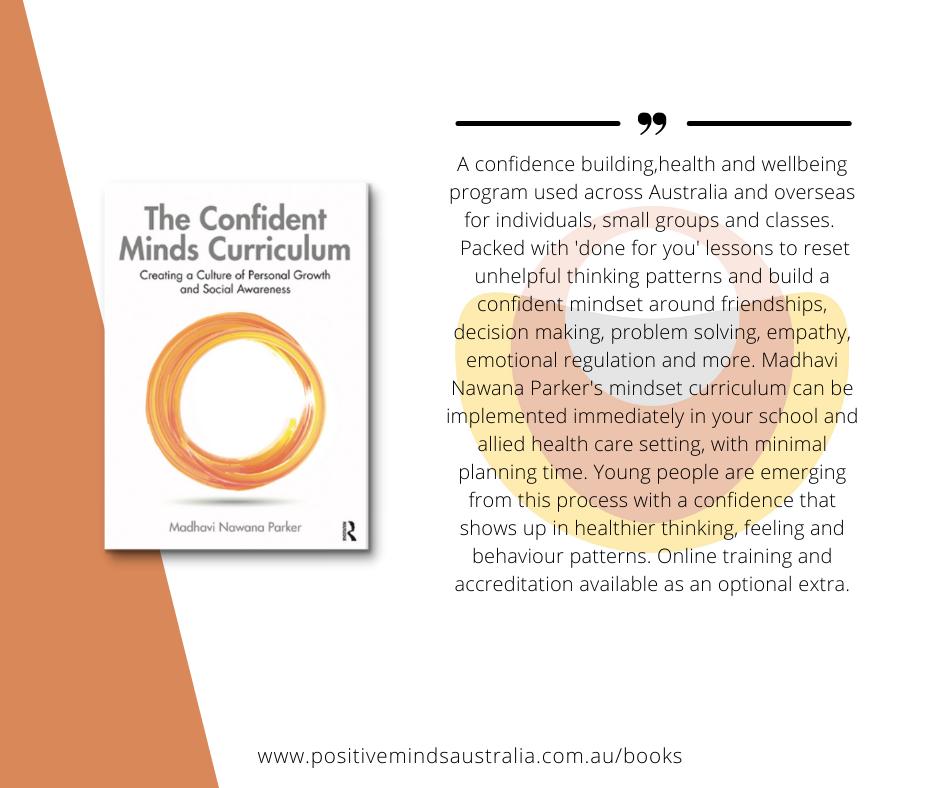 Confident Minds Curriculum Blurb